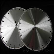 Lame de scie de béton de diamant de haute qualité brasée par vide de 300mm