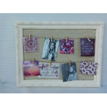 Linen Wooden Photo Frame