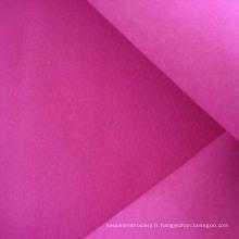 Tissu d'ameublement canapé polyester suédine