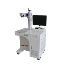 High Speed Portable Laser Metal Marking Machine 20W 30W 50W Fiber Laser Marking Machine For Metal Material Engraving