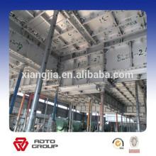 sistema de encofrado para sistema de encofrado de aluminio