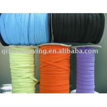 Bunter geflochtener elastischer und gestrickter elastischer Bügel