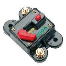 Disjuntor em linha audio do carro do disjuntor automático da restauração de 12V 70A a de 300A