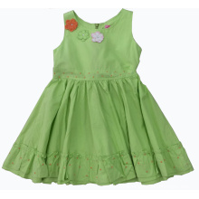 Fashion Cute Dress in Summer for Hot Sale Children Clothes (SQD-123)