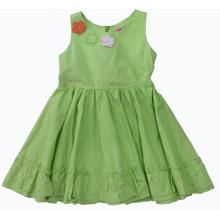 Moda vestido bonito no verão para a roupa quente das crianças da venda (SQD-123)