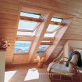 Lucarne de toit en verre aluminium