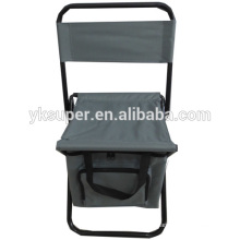 Practical fishing stool with bag