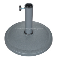 Outdoor 8KGS Round Resin Cheap Umbrella Stand
