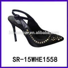 SR-15WHE1558 girls high heel sandals girls latest high heel sandals fashion lady dress shoes