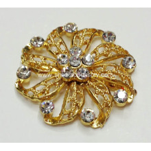 Unique Flower Shapes Rhinestone Shoe Clips