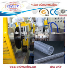 PVC spiral steel wire hoses manufacture machinery / PVC machinery