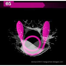 G-Spot Vibrator Anal Sex Toy pour les femmes Ij-S10081