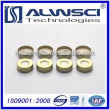 20 мм Золотой Алюминиевый колпачок, винтовой крышкой для GC