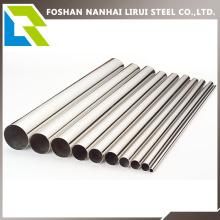 201/304 Grado de tubo de acero inoxidable para la decoración