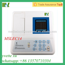 2016 Cheap Single channel EGC machine with 3.5inch LCD(MSLEC14)