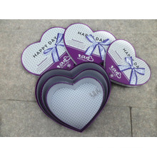 Cheap Custom Hearted Gift Box