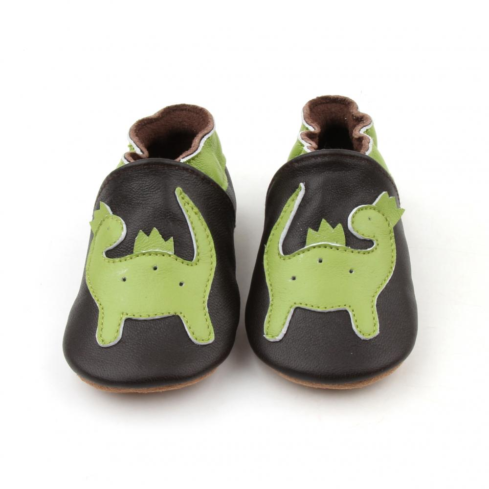 Leather Baby Unisex Shoes Animal Pattern Baby Loafer