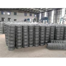 Aço inoxidável / PVC revestido cerca / malha de arame de cerca de gado