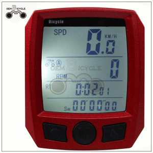 waterproof cycling bicycle computer bike cycle odometer speedometer for sale