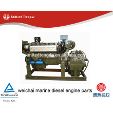 Peças de motor diesel marinhas genuínas weichai