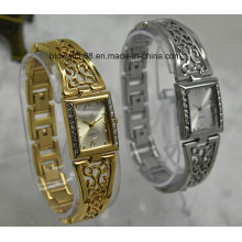 Custom Ladies Antique Bracelet Montre bracelet en laiton Quartz Montres