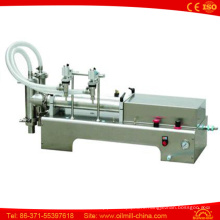 Two Head Vegetable Oil Stainless Steel Coconut Oil Filling Machine