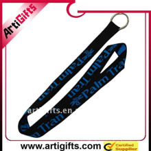 Corde de longe jacquard avec boucle en plastique et crochet en métal
