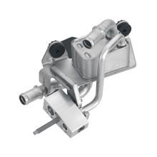 Sistema de refrigeración de coche eléctrico de fundición a presión de aluminio