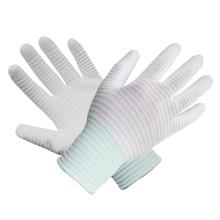 Polyester Knit Handschuh Palm Fit Weiß PU Handschuhe Beschichtete Sicherheit Arbeitshandschuh