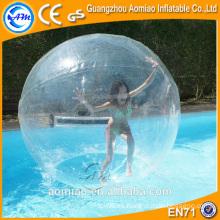 Bola inflable grande del agua / bola pegajosa del agua de la rotura / bola que recorre del agua