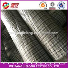 окрашенная пряжа рубашечная ткань оптом мужская рубашка 65% полиэстер 35% хлопок равнина окрашенная Пряжа Рубашечная ткань