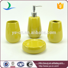 Productos de cerámica ovalados domésticos innovadores para el uso del hogar del hotel del cuarto de baño