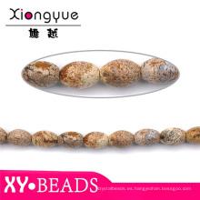 Venta por mayor Oval corte oliva piedras preciosas cabujón granos