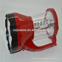 Lanterna conduzida da caça recarregável, lanterna elétrica conduzida recarregável