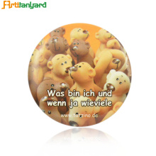 Pin Badge Printing With Safety Pin
