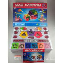 Plástico de seguridad para niños paneles magnéticos diy juguetes KB-1004MP