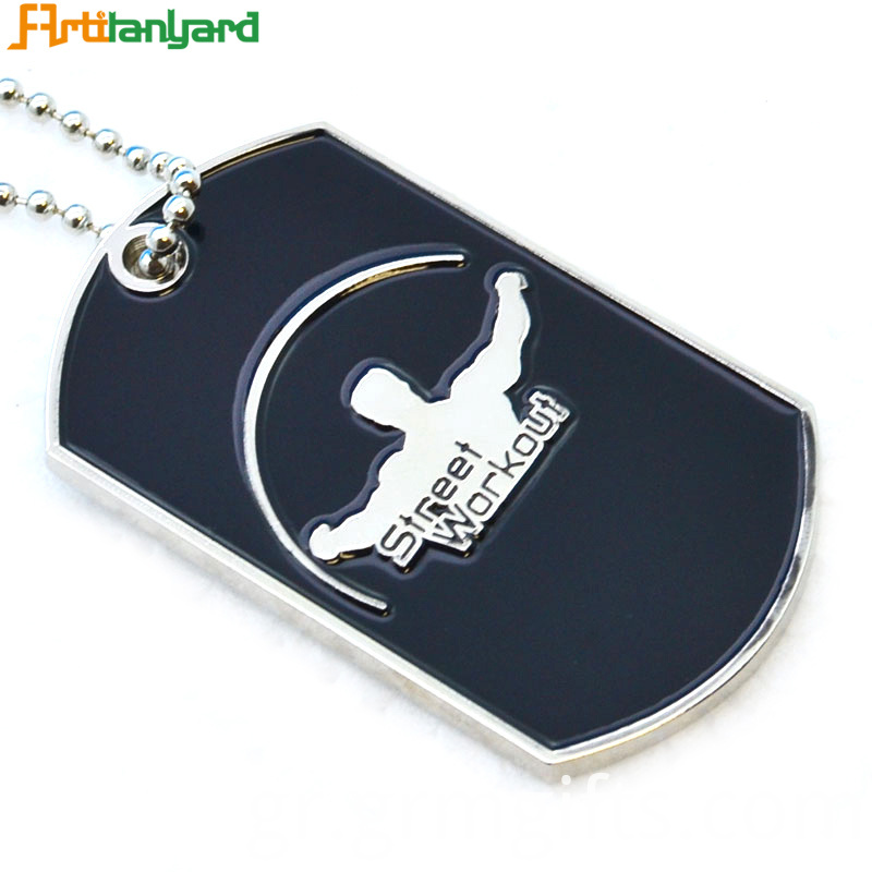 Dog Tag Necklace Chain