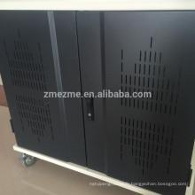 Zmezme commerce assurance sécurité sync chariot pour ipads station de recharge pour PC plat