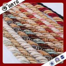 Diseño simple y cuerda decorativa hermosa para la decoración del sofá o el accesorio de la decoración casera, cuerda decorativa, 6m m