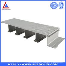 Extrusion en aluminium 6063 extrudée avec ISO RoHS