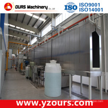 Blasting, DIP, Spray Type Surface Pretreatment Equipment