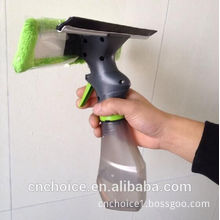 Car cleaning tool microfibre mop sprayer window squeeze with water bottle
