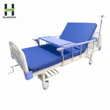 Больничная мебель Однофункциональная ручная больничная койка