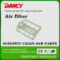 5200 5800 4500 chainsaw parts air filter