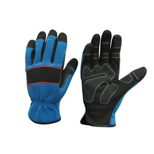 Micro Fiber Padded Palm Mechanic Work Glove--7222