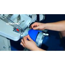 Computerized sewing machine for shoe heel piece