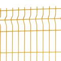 Curvy Garden Welded Wire Mesh Metallplatten