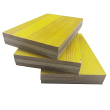 Shuttering boards consist of three layers