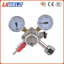 CO2 Regulator Dual Gauge Heavy Duty Unit