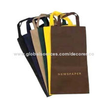 Good Quality Customized Newspaper Bags, Screen Printing, Foil Stamping Logos